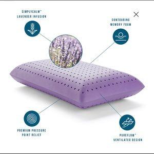 Lucid Bedding - LUCID Calming Lavender Infused Memory Foam Pillow